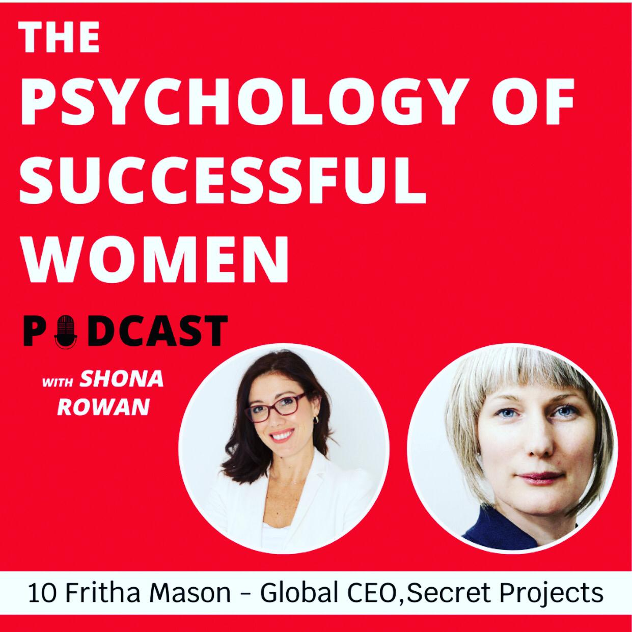 Our CEO takes part in 'The Psychology of Successful Women Podcast'. Listen and be inspired!
